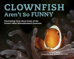 Book cover of CLOWNFISH AREN'T SO FUNNY