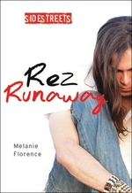 Book cover of REZ RUNAWAY