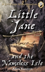 Book cover of LITTLE JANE & THE NAMELESS ISLE