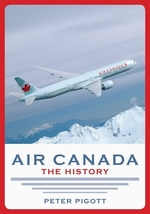 Book cover of AIR CANADA THE HIST