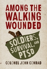 Book cover of AMONG THE WALKING WOUNDED