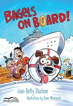 Book cover of BAGELS ON BOARD