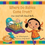 Book cover of WHERE DO BABIES COME FROM