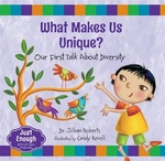 Book cover of WHAT MAKES US UNIQUE