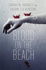 Book cover of BLOOD ON THE BEACH