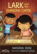 Book cover of LARK & THE DIAMOND CAPER