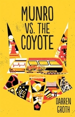 Book cover of MUNRO VS THE COYOTE