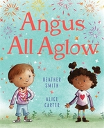 Book cover of ANGUS ALL AGLOW
