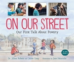 Book cover of ON OUR STREET - OUR 1ST TALK ABOUT POVER