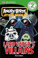 Book cover of ANGRY BIRDS STAR WARS LARD VADER'S VILLA
