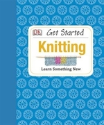 Book cover of GET STARTED KNITTING