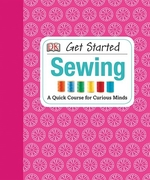 Book cover of GET STARTED SEWING