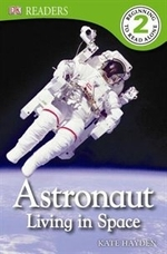 Book cover of ASTRONAUT LIVING IN SPACE