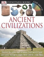 Book cover of EYEWITNESS ANCIENT CIVILIZATIONS