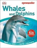 Book cover of EYE WONDER WHALES & DOLPHINS