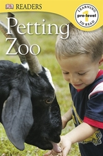 Book cover of PETTING ZOO