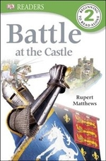 Book cover of BATTLE AT THE CASTLE