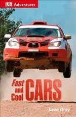 Book cover of DK ADVENTURES FAST & COOL CARS
