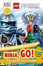 Book cover of LEGO NINJAGO NINJA GO