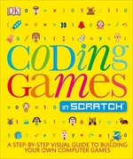 Book cover of CODING GAMES IN SCRATCH
