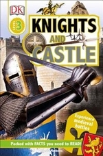 Book cover of DK READERS L3 KNIGHTS & CASTLES