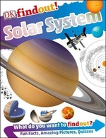 Book cover of DK FINDOUT SOLAR SYSTEM
