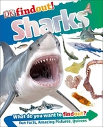 Book cover of DK FINDOUT - SHARKS