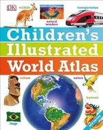 Book cover of CHILDREN'S ILLU WORLD ATLAS