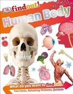 Book cover of DK FINDOUT THE HUMAN BODY