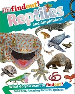 Book cover of DK FINDOUT REPTILES & AMPHIBIANS