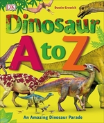 Book cover of DINOSAUR A TO Z
