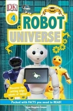 Book cover of DK READERS ROBOT UNIVERSE