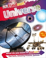 Book cover of DK FINDOUT - UNIVERSE
