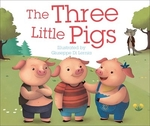 Book cover of 3 LITTLE PIGS