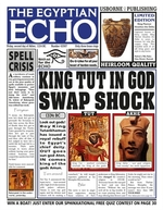 Book cover of EGYPTIAN ECHO