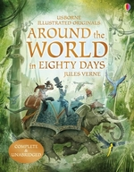 Book cover of AROUND THE WORLD IN 80 DAYS