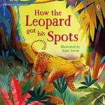 Book cover of HOW THE LEOPARD GOT HIS SPOTS