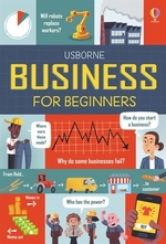Book cover of BUSINESS FOR BEGINNERS