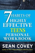 Book cover of 7 HABITS OF HIGHLY EFFECTIVE TEENS WKBK