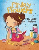 Book cover of FINLEY FLOWERS FIN-TASTIC FASHION