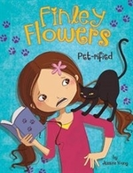 Book cover of FINLEY FLOWERS PET-RIFIED
