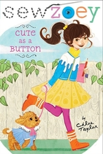 Book cover of SEW ZOEY - CUTE AS A BUTTON