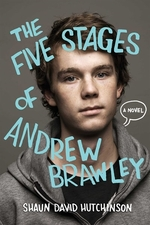 Book cover of 5 STAGES OF ANDREW BRAWLEY