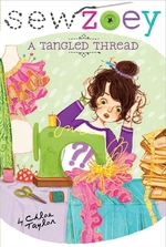 Book cover of SEW ZOEY - TANGLED THREAD