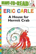 Book cover of HOUSE FOR HERMIT CRAB