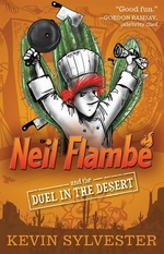 Book cover of NEIL FLAMBE & THE DUEL IN THE DESERT
