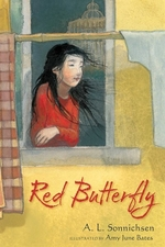 Book cover of RED BUTTERFLY