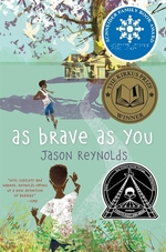 Book cover of AS BRAVE AS YOU