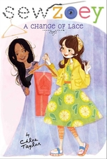 Book cover of SEW ZOEY - CHANGE OF LACE