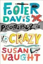 Book cover of FOOTER DAVIS PROBABLY IS CRAZY